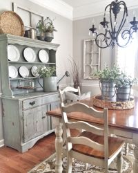 Shabby chic dining room | Farmhouse style | Pinterest ...