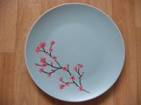 ceramic painting ideas | Ceramic painting - Cherry blossom ...