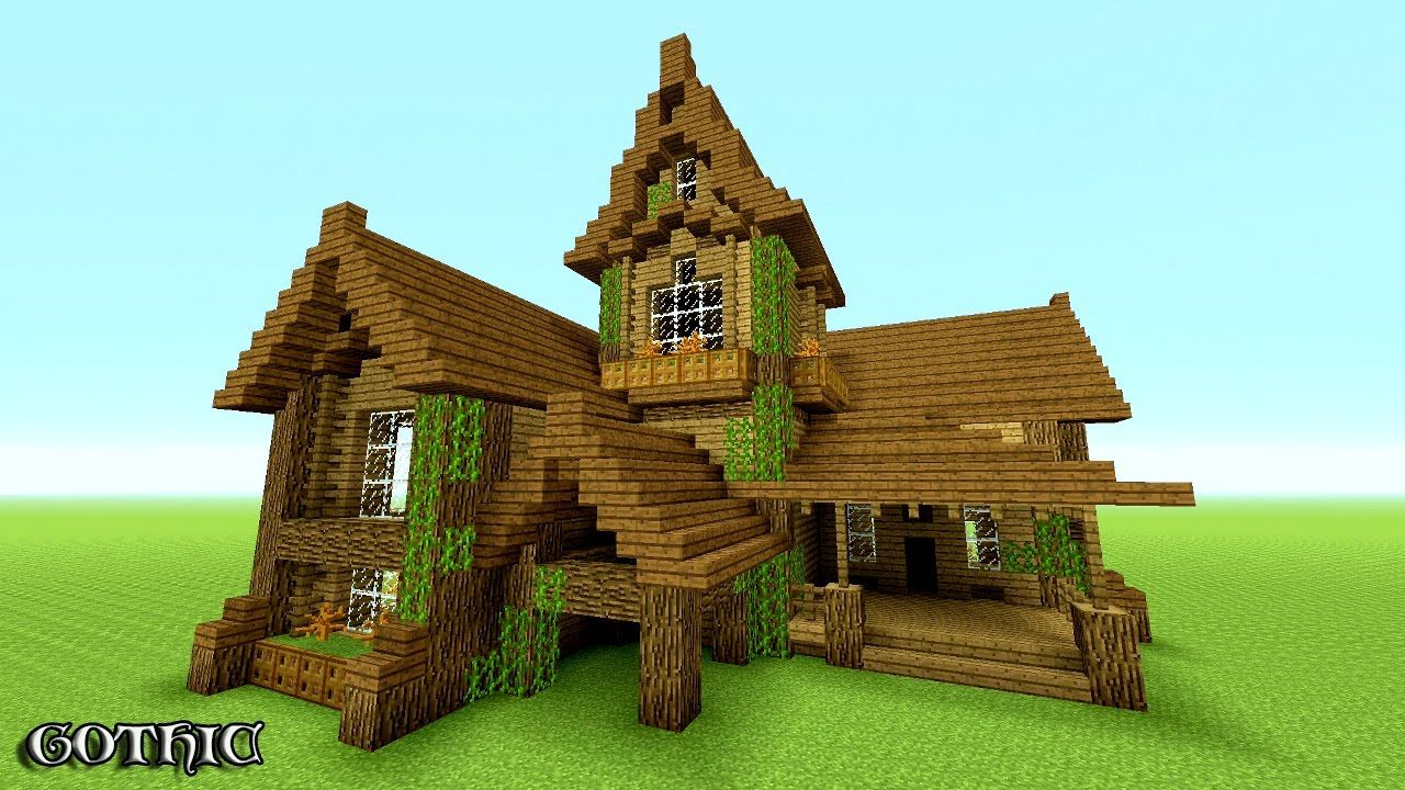 MINECRAFT: How To build A survival House