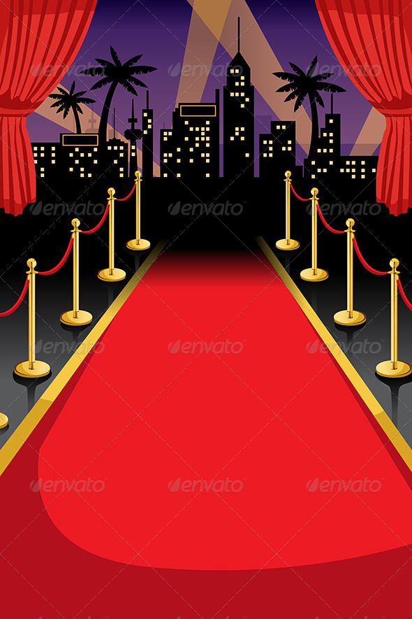 Red Carpet Invitation templates, Red carpet and Red carpet theme - flyer invitation templates free