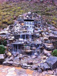 Garden Pond Fountain Ideas | landscaping | Pinterest ...