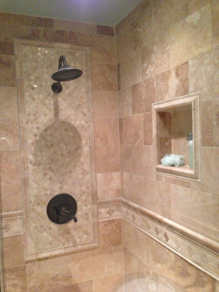 Find this pin and more on bathroom ideas for kids and us tile design set in in the main shower wall