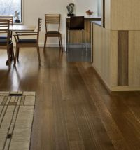 """5"""" white oak floors with minwax special walnut stain ..."""