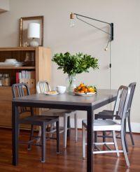 7 creative dining room lighting ideas | Swing arm wall ...
