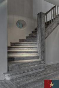 dark grey hardwood floors - such a unique look   Flooring ...