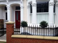 new red brick garden wall london | London terrace ...