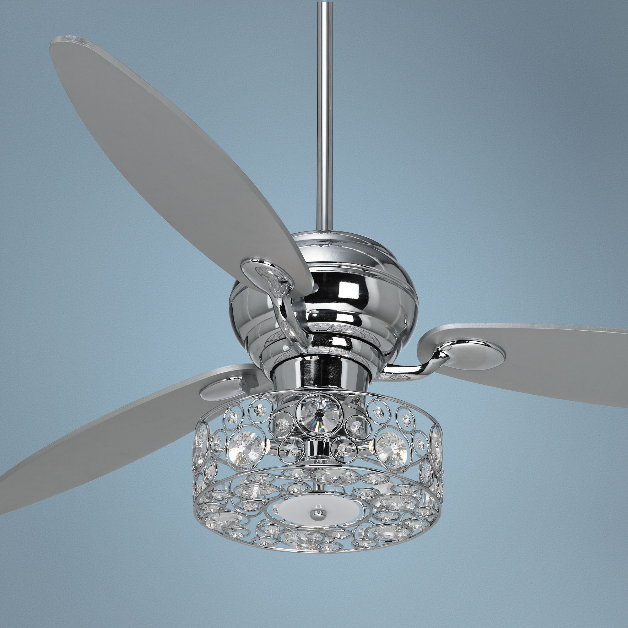 Chrome Ceiling Fans Without Lights Chrome Ceiling Fan Lights Review Home Decor