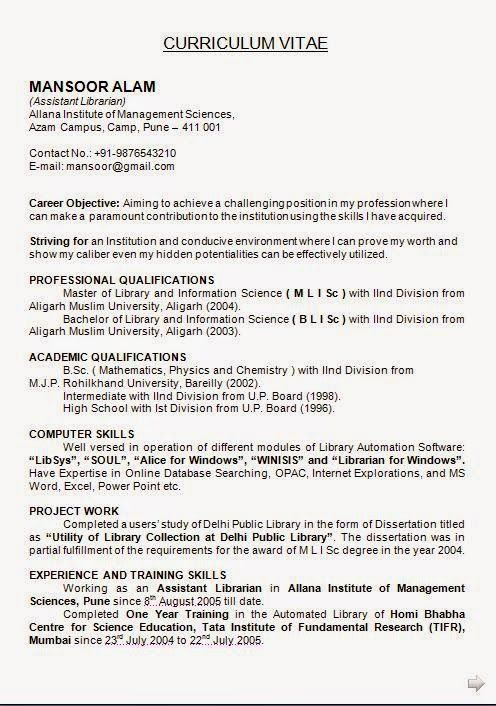 librarian resume sample 110 best promote your teaching skills