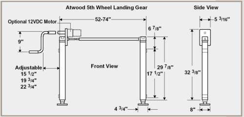atwood truck camper jack wiring diagram