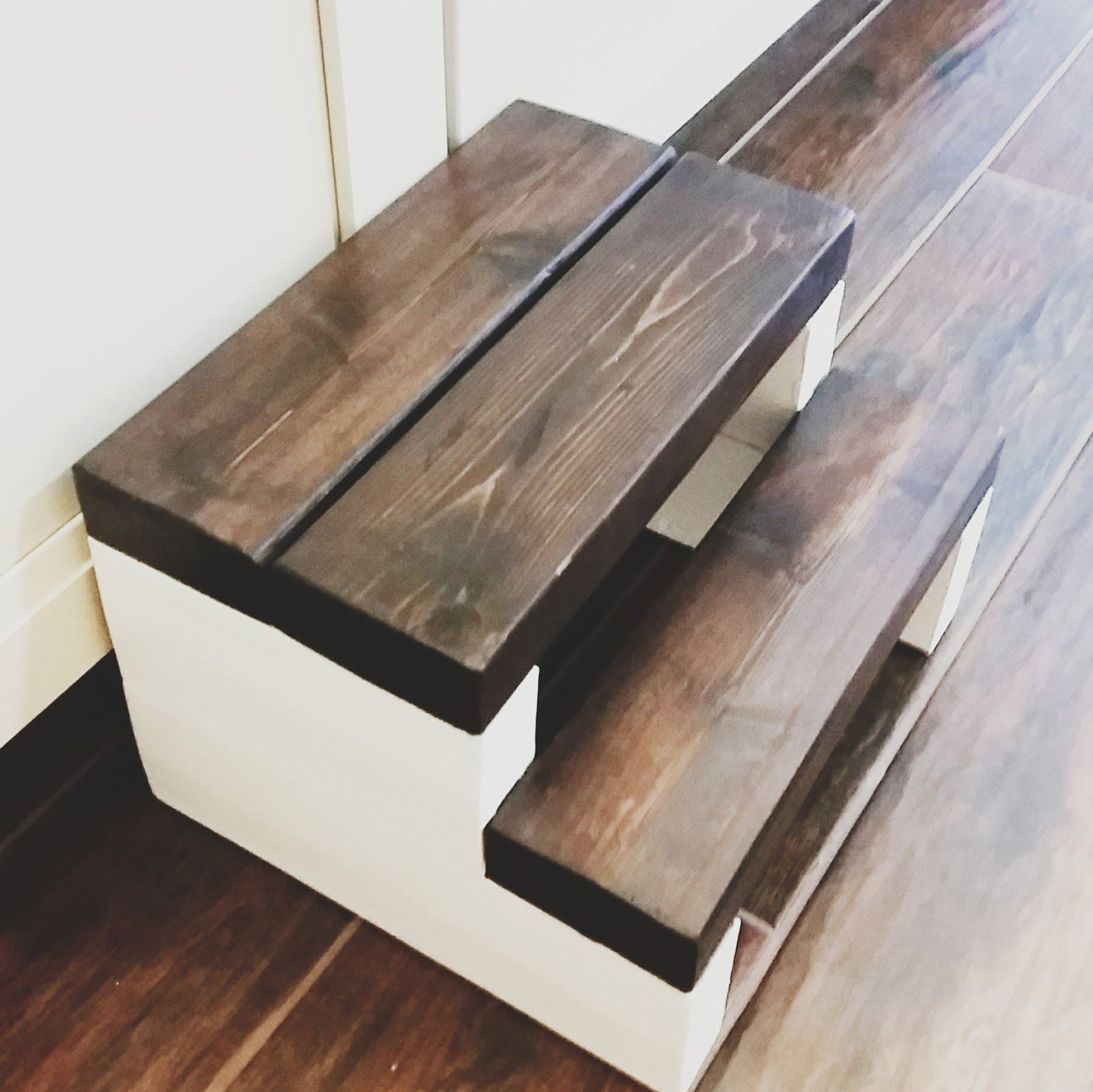 Wooden Steps The Heart Comes Home Step Stool Made With One 2x4 So