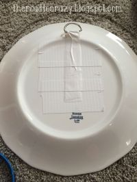 The Road to Crazy: DIY Plate Hangers   Plate hangers ...