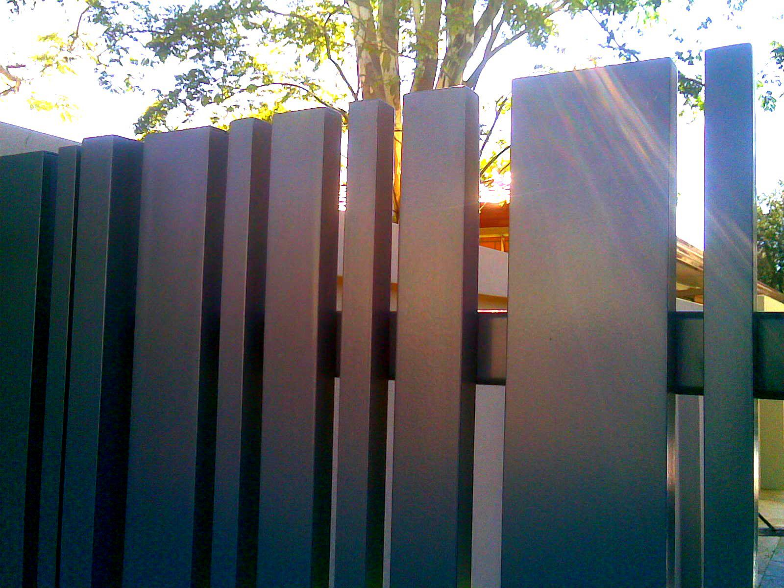 Modern Metal Fence Panels Contemporary Fencing Aluminum Http Pinterest