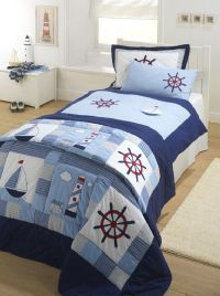 Kids Nautical Bedding - Top Home Design - 52 | By The Sea ...