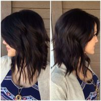 Mahoghany (rich dark violet brown) hair color and hair ...