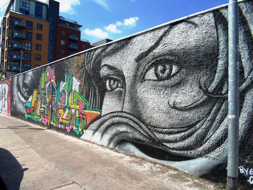 U2 graffiti wall dublin