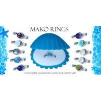 Mako Mermaids Ring in Sterling Silver | birth stones ...