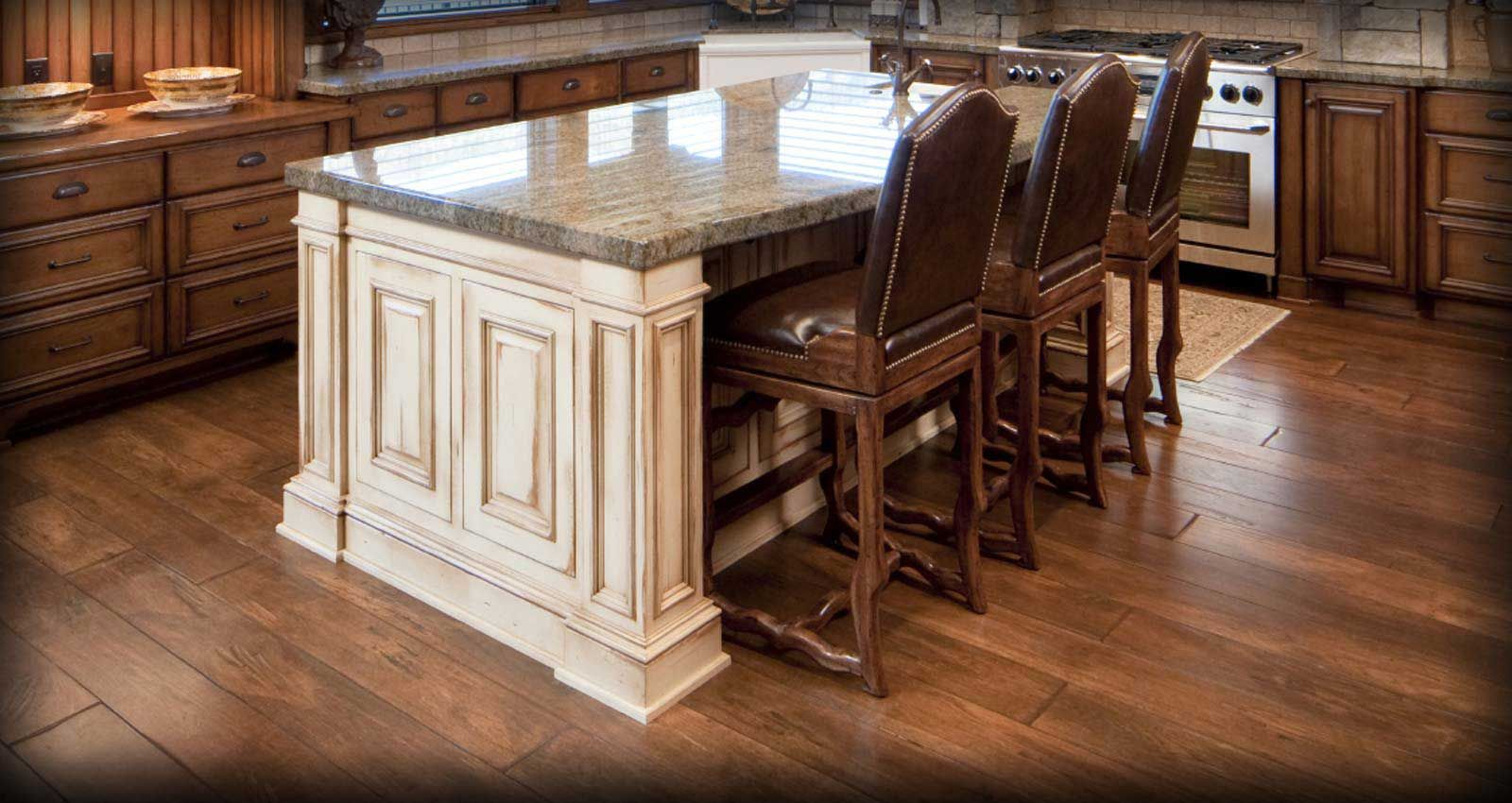solid wood hardwood kitchen wood floors