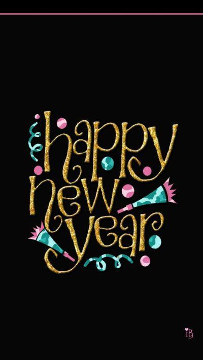 iPhone Wallpaper - Happy New Year tjn | iPhone Walls: Christmas & HNY | Pinterest | Wallpaper ...