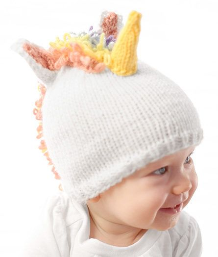 Garter Ear Flap Hat Fantastical Creature Knitting Patterns | Baby Hats