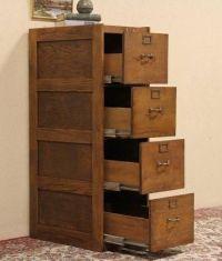 4 Drawer Wood File Cabinet | Wood File Cabinet | Pinterest ...