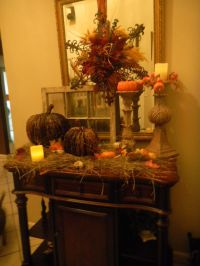 Fall Autumn.. Thanksgiving decorating... dont want hay