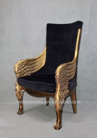 Antique gold king throne chair for home and hotel use ...