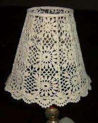 crochet_lampshade\ No pattern, just an idea | crochet ...