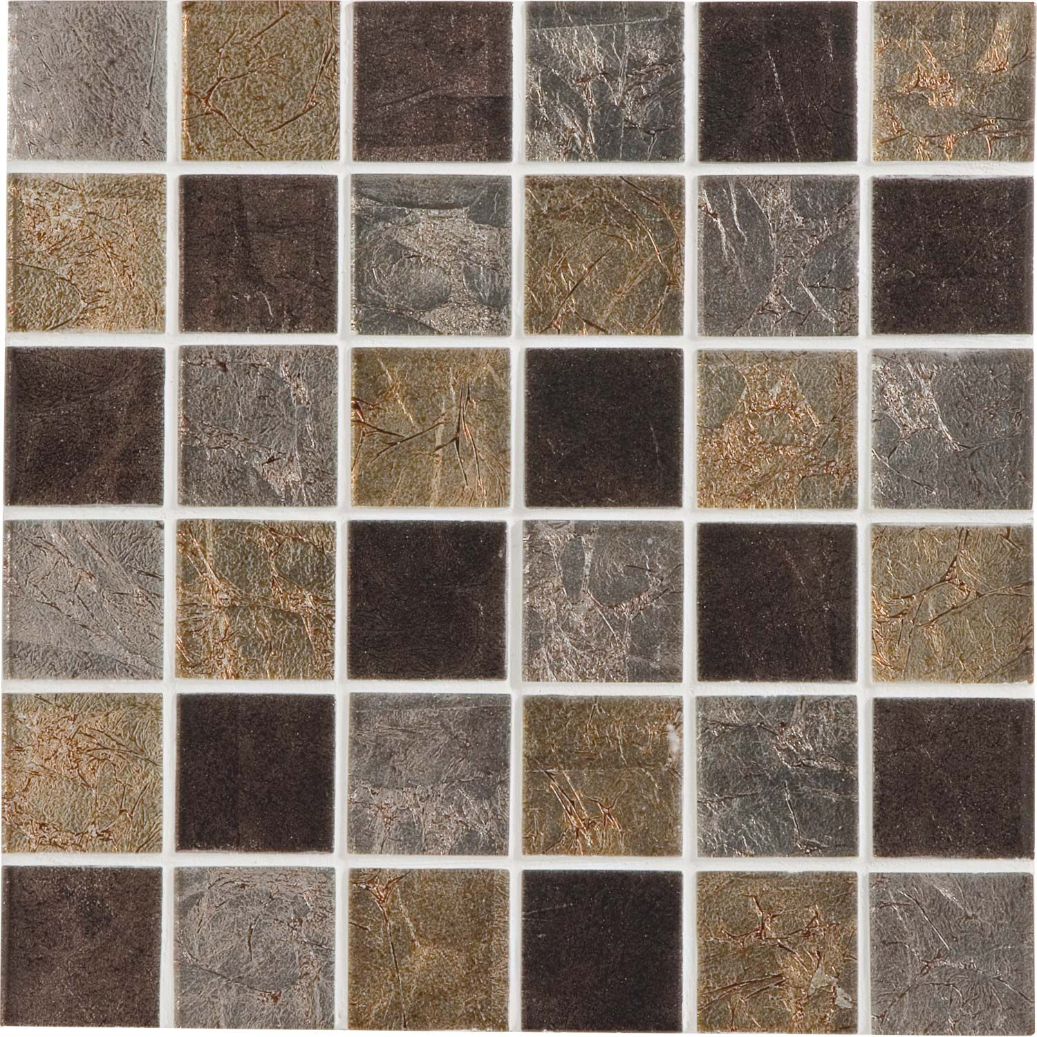 Carrelage Noir Leroy Merlin Mosaque Glass Select Mix Artens Marron X Cm Leroy Merlin