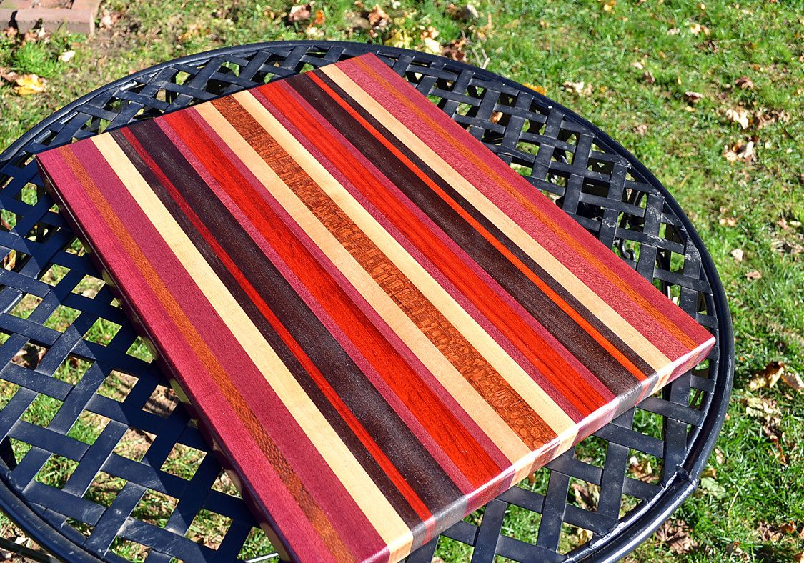 Extra Large Wooden Chopping Board Handmade Extra Large Wood Cutting Board Purpleheart