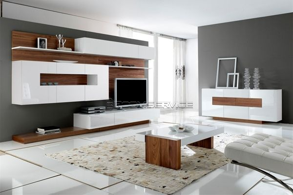 unité murale moderne WALL UNIT Pinterest Modern tv units, Tv - designer wall unit