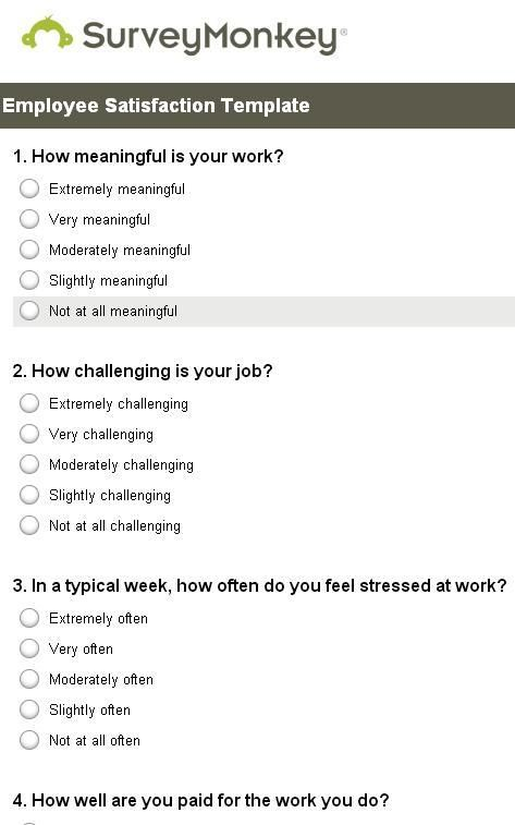 restaurant surveys questions