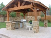 Covered Outdoor Living Spaces | Standalone Shingled Roof ...