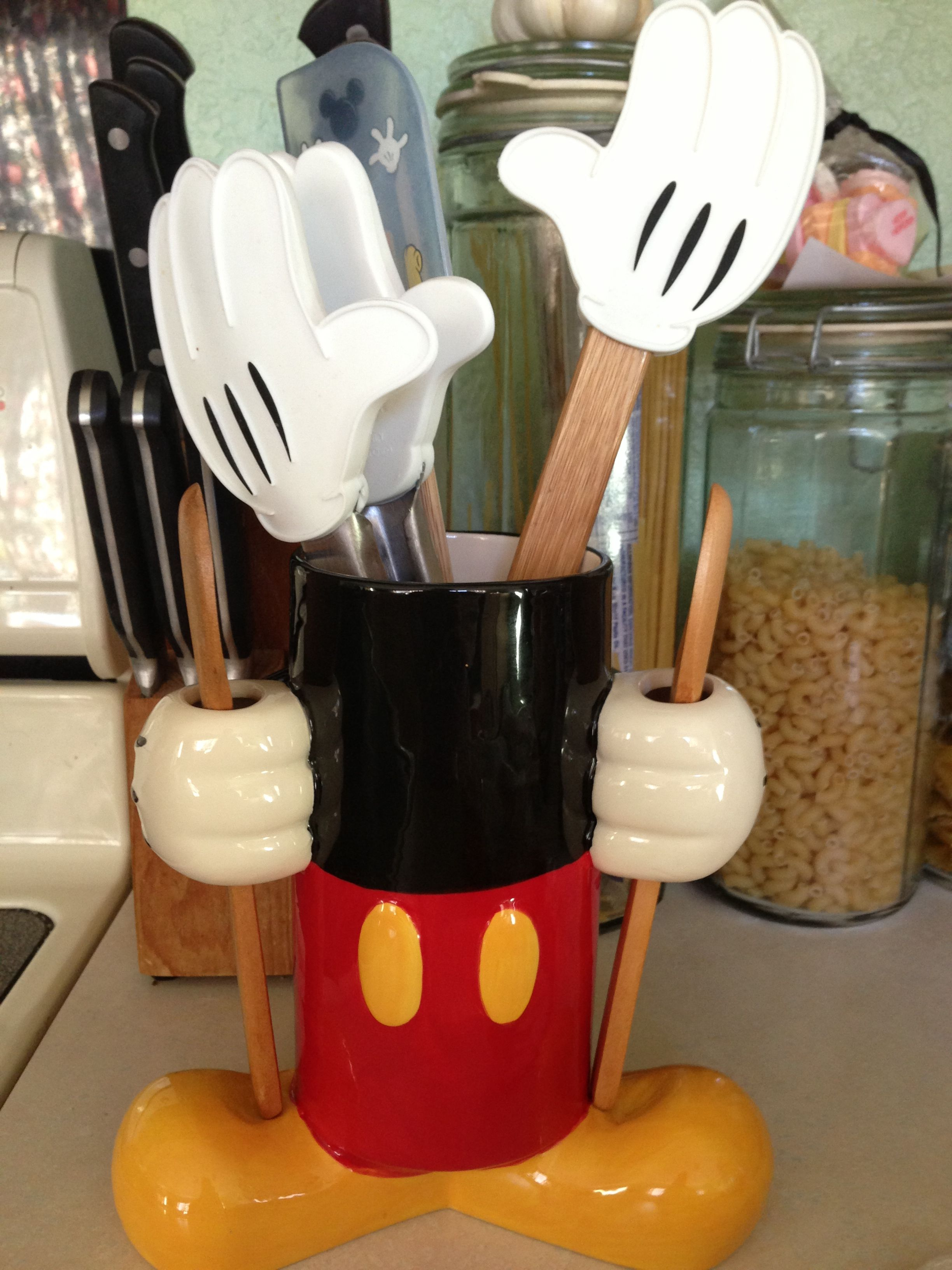 Cocina Minnie Mouse Mickey Mouse Kitchen Caddy It Matches Brilliantly With My