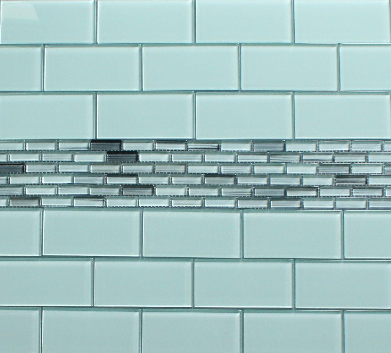 Glass tile crystile wave blue sea foam c09 w tile size 4x12 our price - Glass Tile Crystile Wave Blue Sea Foam C09 W Tile Size 4x12 Our Price Glass