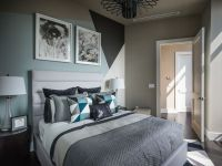 Guest Bedroom Design Ideas best turquoise wall paint color ...