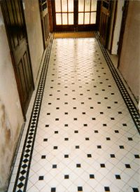 Victorian Tiling, Victorian Tiles, floors, paths expertly ...