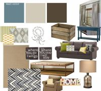 industrial/casual living room design- troy student center ...