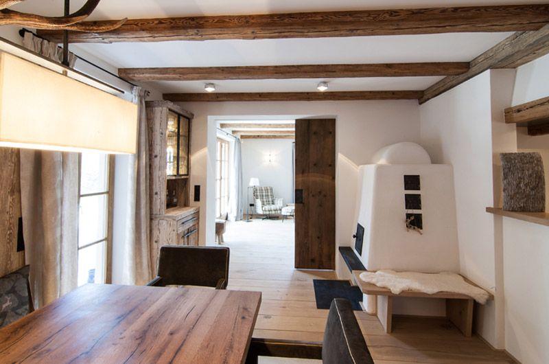 Esszimmer und Bauernstube mit Kamin Lieblingsorte und -räume - esszimmer chalet