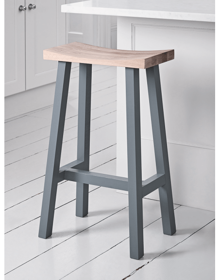Oak Kitchen Bar Stools With Backs Kitchen Stools & Chairs, Wooden & Rattan Kitchen Bar