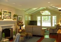 Great Room Addition with Cathedral Ceiling, new windows ...