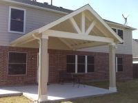 Superb Covered Patio Plans @ 9 -> Gable Roof Patio Cover ...