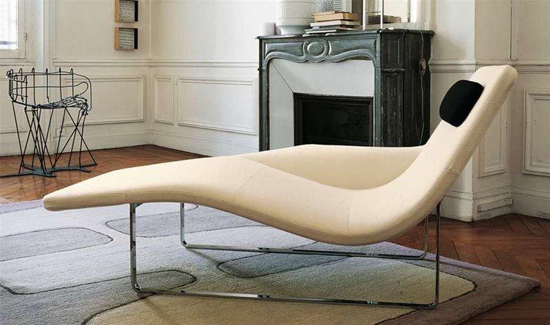 Moderne Chaiselongue als poppiges Relaxmöbel im Wohnraum Sessel - fernsehsessel im wohnzimmer relaxmobel