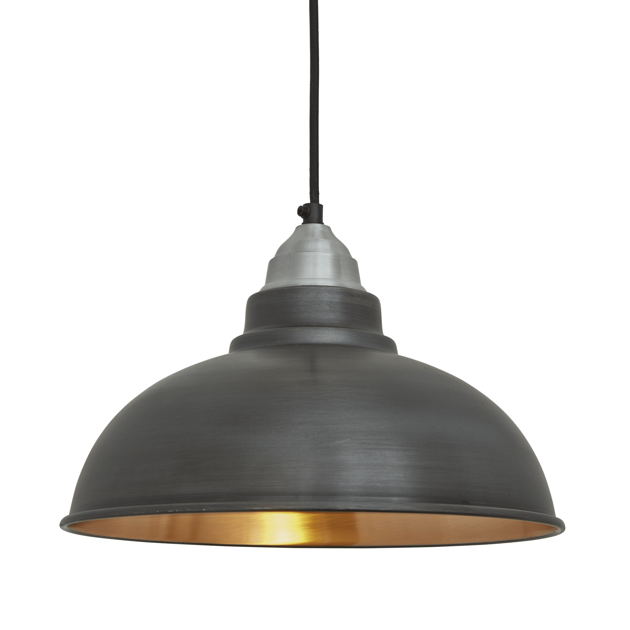 Industrial Vintage Lighting Old Factory Vintage Pendant Light Dark Pewter And Copper