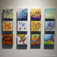 mini canvas display idea  | Pinteres
