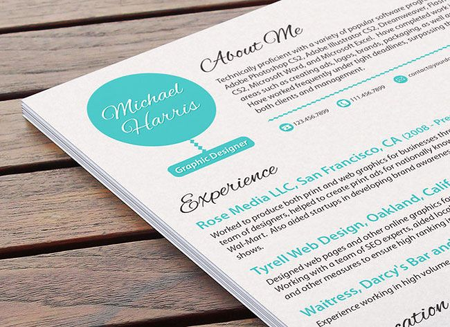 creating a resume that stands out - stand out resume templates