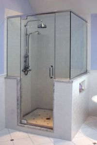 Bath Photos Shower Knee Wall Design, Pictures, Remodel ...