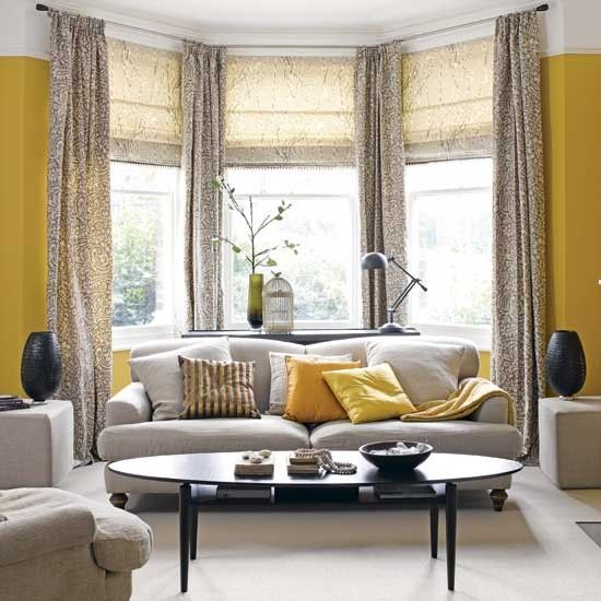 Yellow and grey living room Grey living rooms, Living rooms and - yellow and grey living room