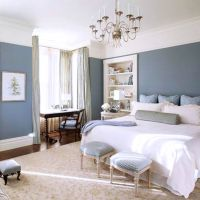 Bedroom : Peroconlagr Blue Accent Wall Bedroom Ideas Plus ...