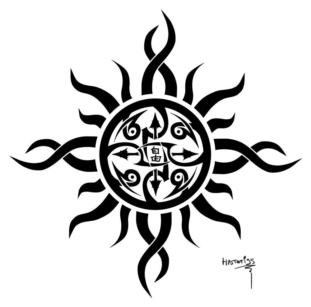 Sun tattoos tribal sun tattoos designs and ideas
