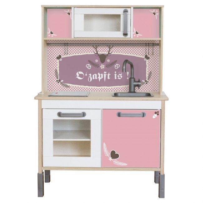 Wiesngaudi für IKEA Kinder Küchen - Farbe Rosa - kuchenfarbe